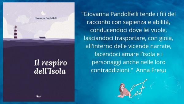 isola, Il respiro dell'isola, Giovanna Pandolfelli, recensione