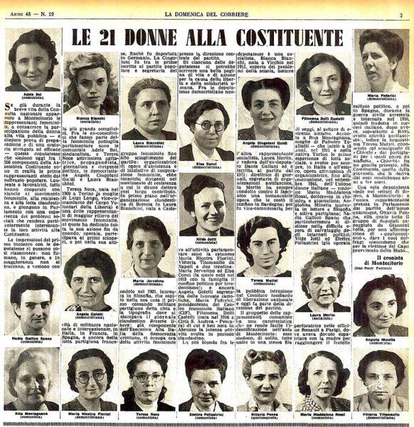 madri della costituzione italiana